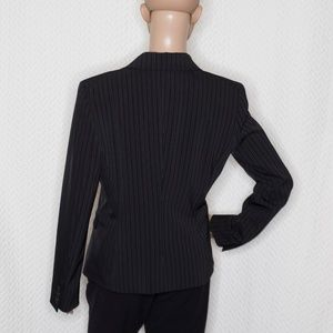 Tahari Jackets & Coats - TAHARI Black Blazer with pinstripes